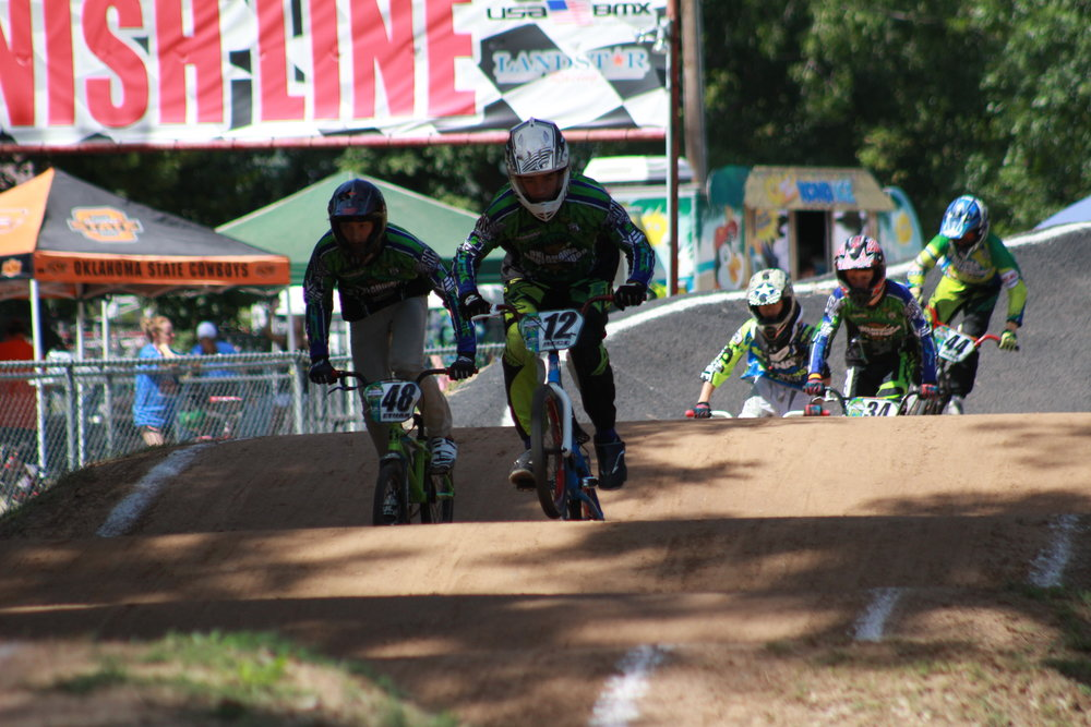 Existing BMX track located in River City Parks. (Photo: Scott Emigh)