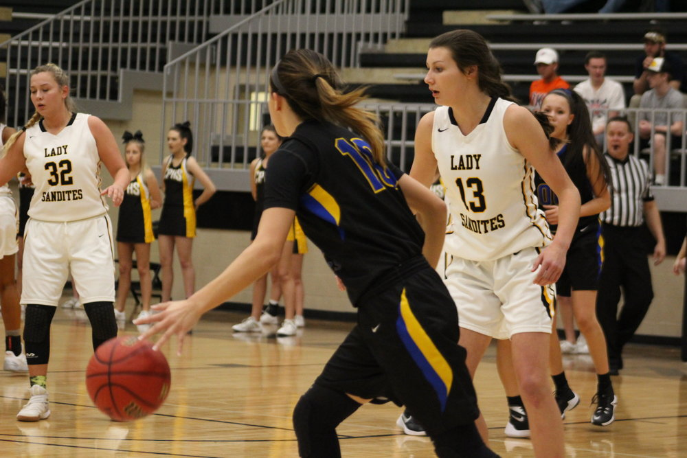 Sophomore Holly Kersgieter scored a game-high 18 points in a Regional playoff victory over Stillwater.