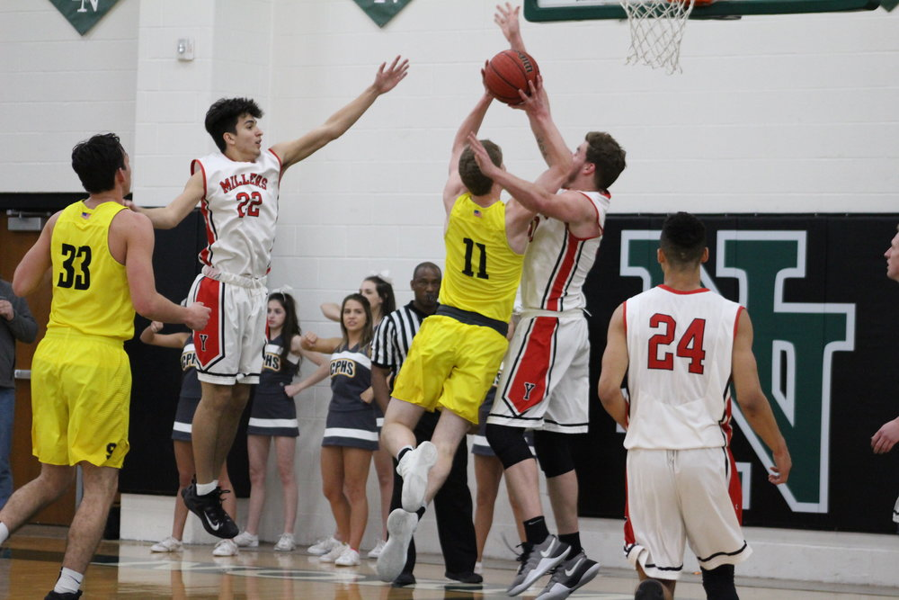Junior Colt Savage led the Sandites with 27 points in a Regional playoff win. (Photo: Scott Emigh).