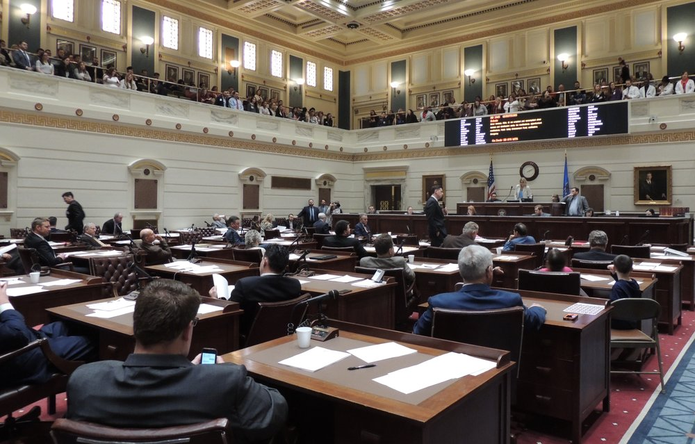 The full Senate gave its approval to House Bill 1845, the REAL ID Act, on Tuesday.  The measure, co-authored by Senate President Pro Tempore Mike Schulz and Oklahoma House Speaker Charles McCall, now goes to Gov. Mary Fallin for her signature.