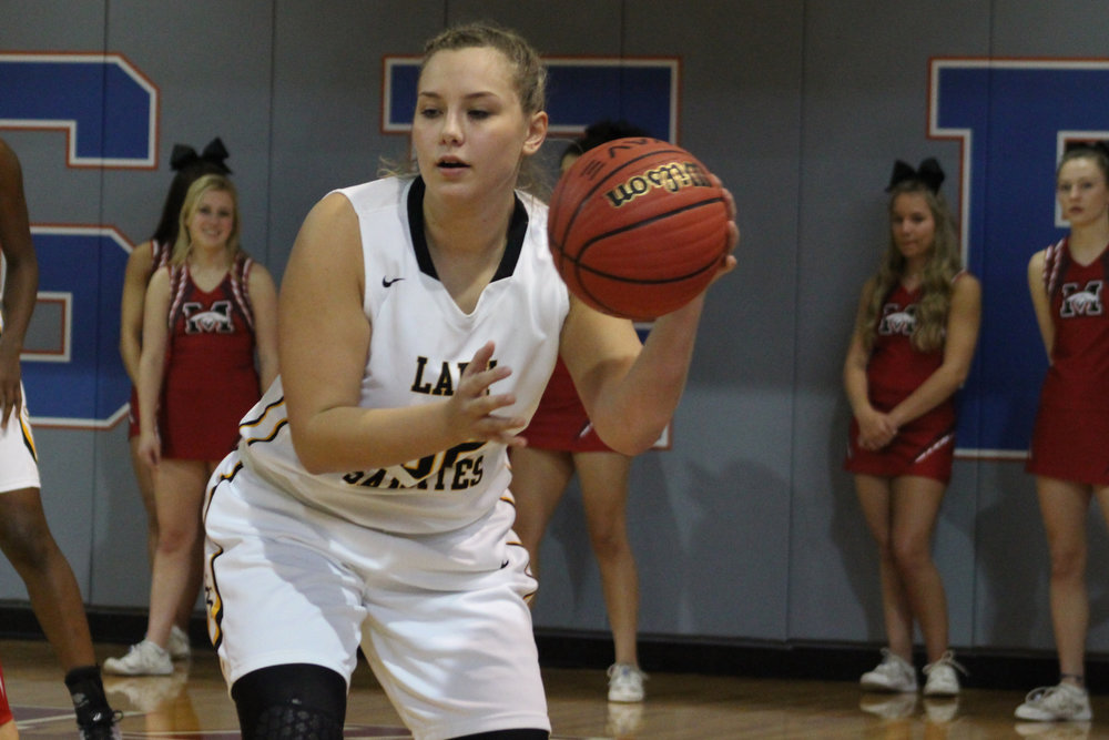 Isabella Regalado is one of three starting sophomores who will be anchoring the Lady Sandites in the years to come. (Photo: Scott Emigh).