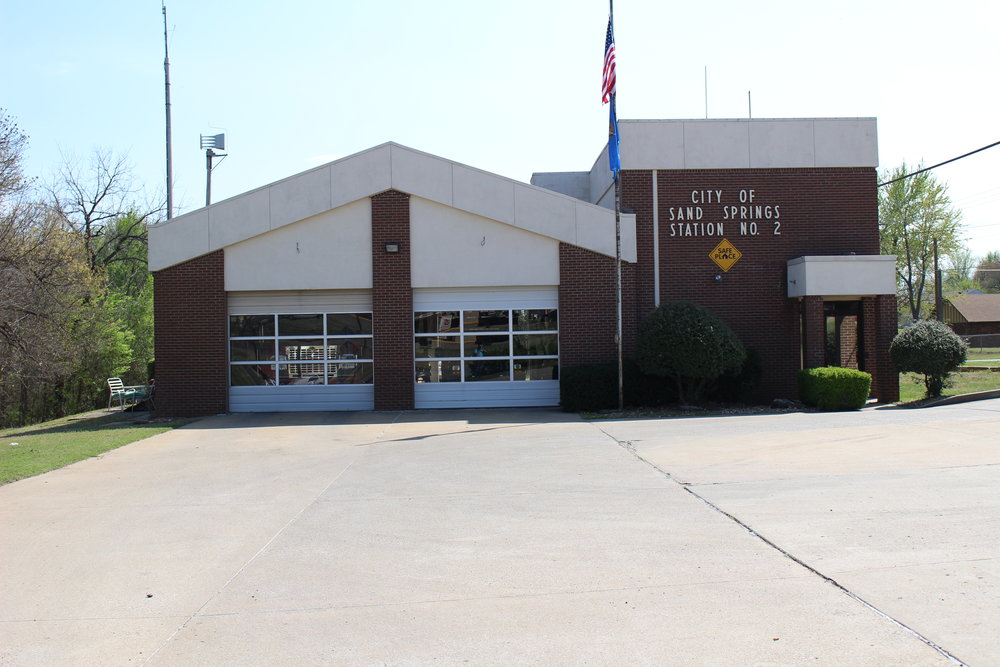 SEE RELATED: Sand Springs Fire Station #2 to receive $1.5 million new facility