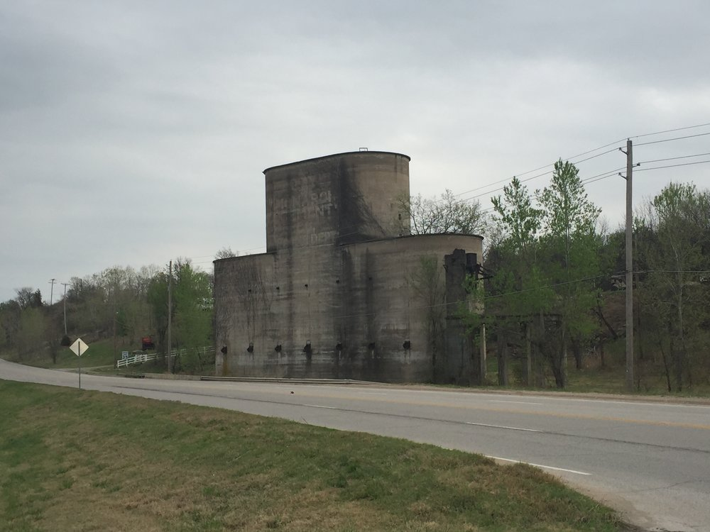 This disused mill on old Highway 51 will soon serve as a welcome sign to the City.