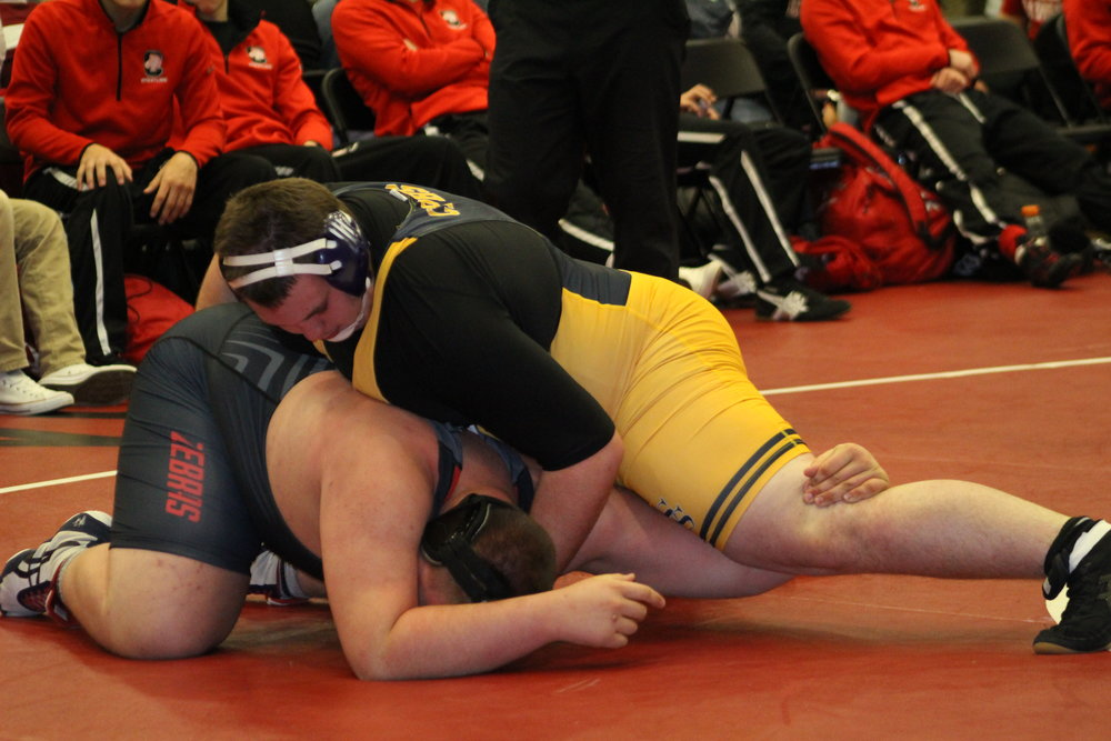 The Sandites steamrolled their way through the Owasso Ram Duals with two shutouts.