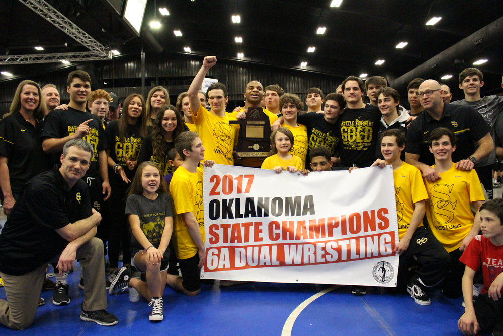 The 2017 Sandites brought home the first Dual State Championship in school history.