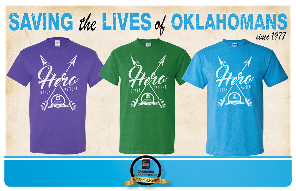Spring to Save Lives with Oklahoma Blood Institute this April
