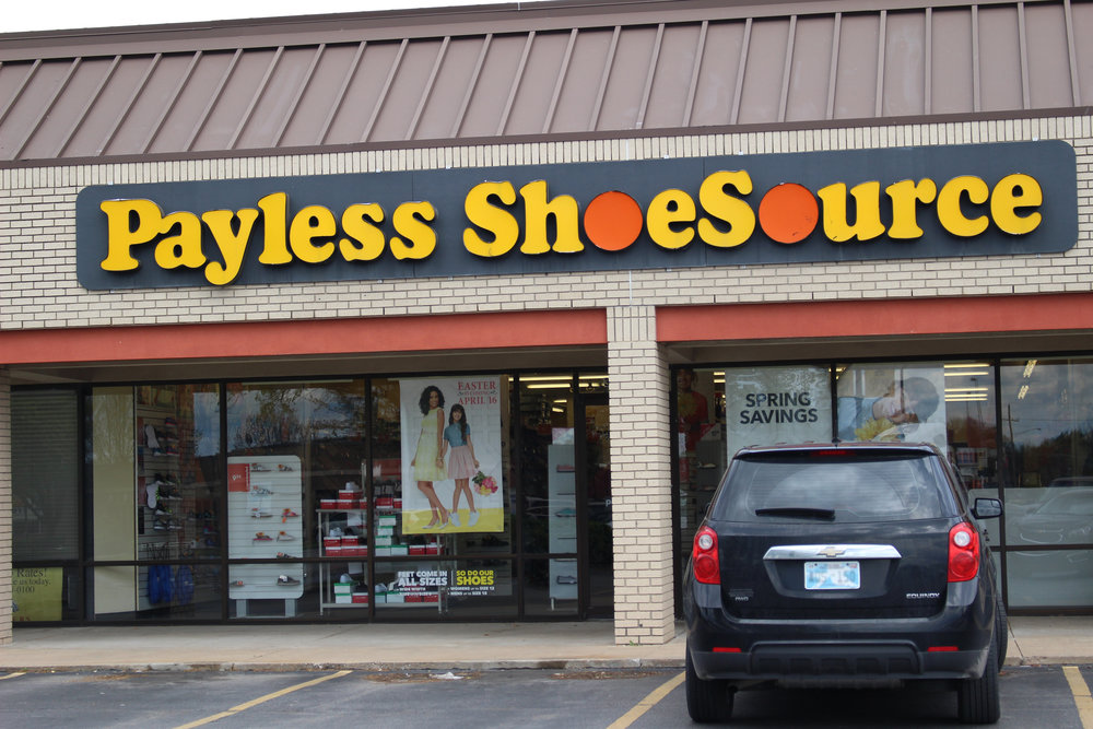 This Payless ShoeSource at Springs Village in Sand Springs is one of hundreds expected to close across the U.S.