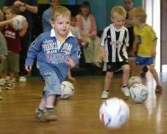 The SSSC includes programs for 2-4 year olds designed to cultivate familiarity with the ball and build a love of the sport before fundamentals are even introduced.