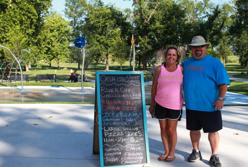 SEE RELATED:  Local couple brings Harper's Hut to River City Splash Pad