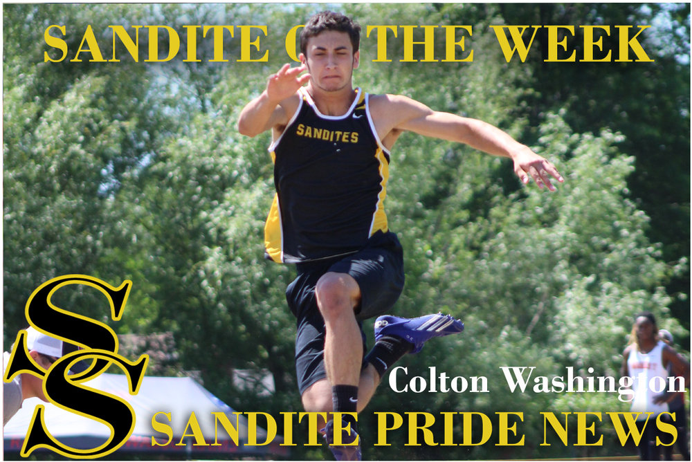 Colton Washington Sand Springs Long Jump