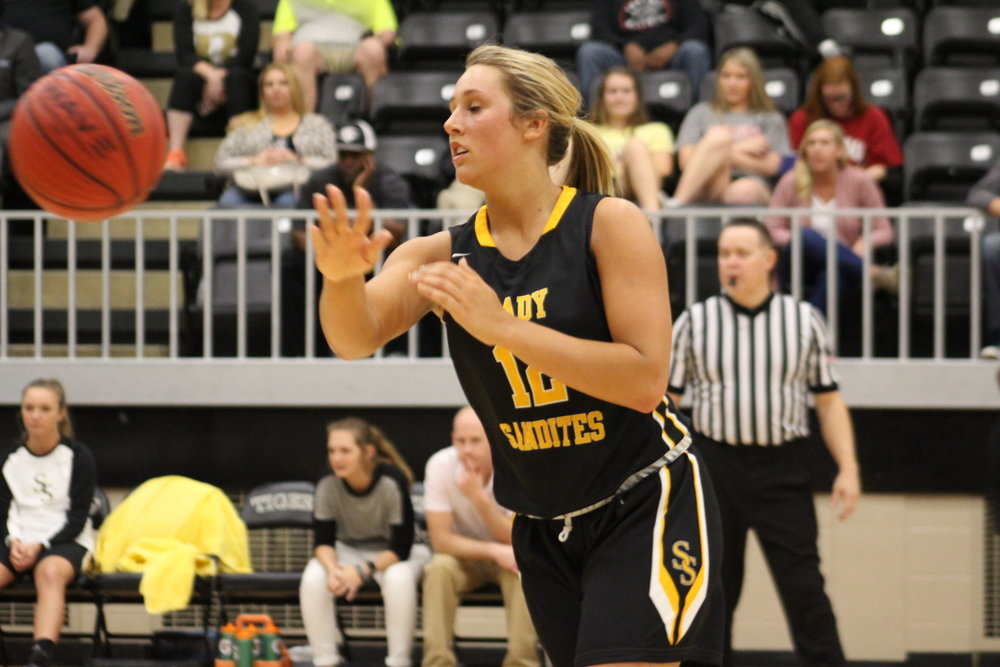 Sydney Pennington Sand Springs Basketball Softball