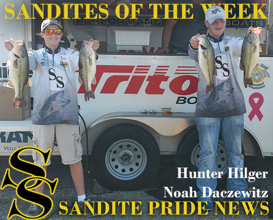 Sand Springs Bass Fishing Hunter Hilger Noah Daczewitz