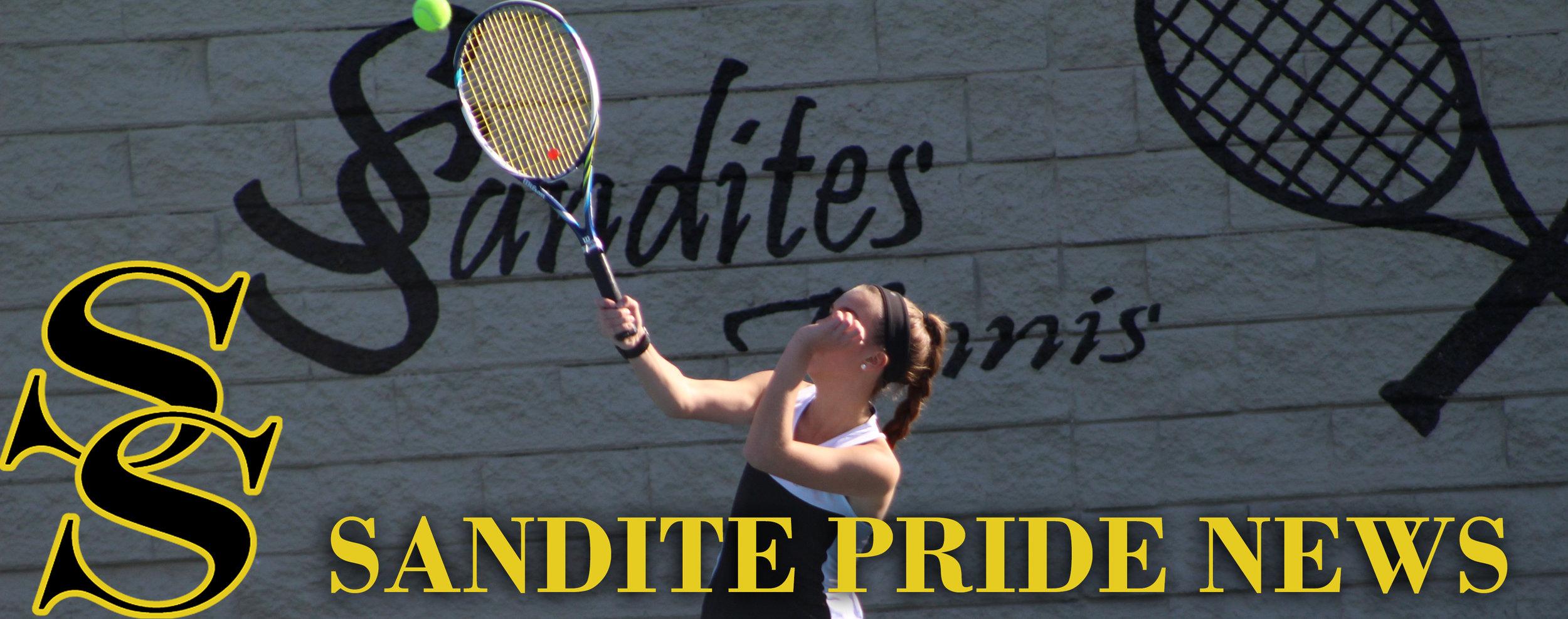 Girls Tennis Sandite Pride News
