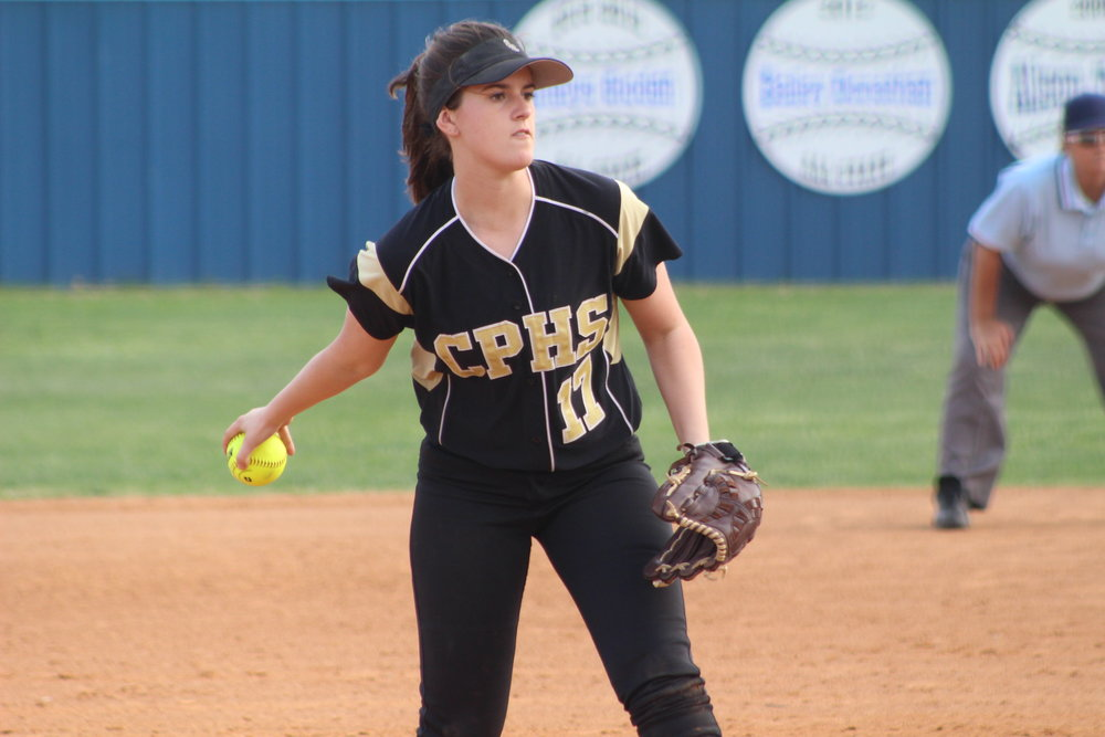 Sand Springs Softball Jensen Arnold