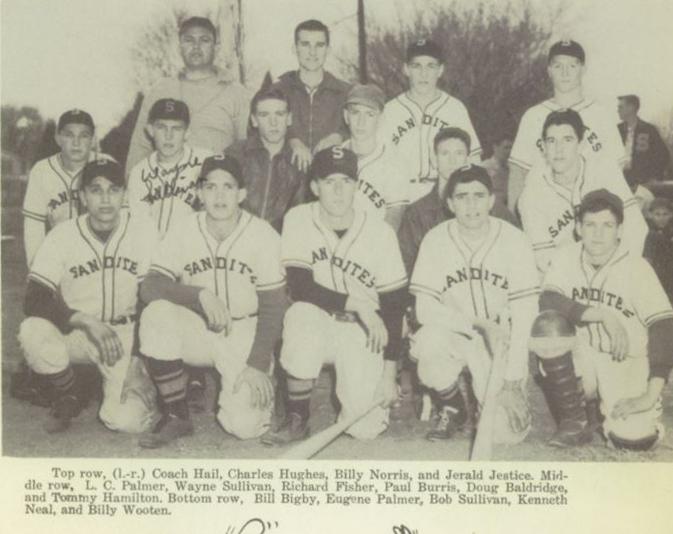 Eugene Palmer Sand Springs Baseball