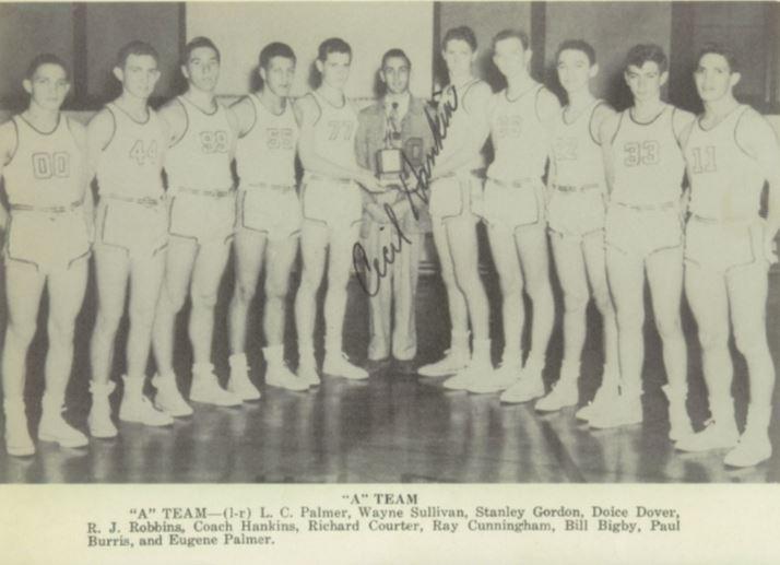 Eugene Palmer Sand Springs Basketball