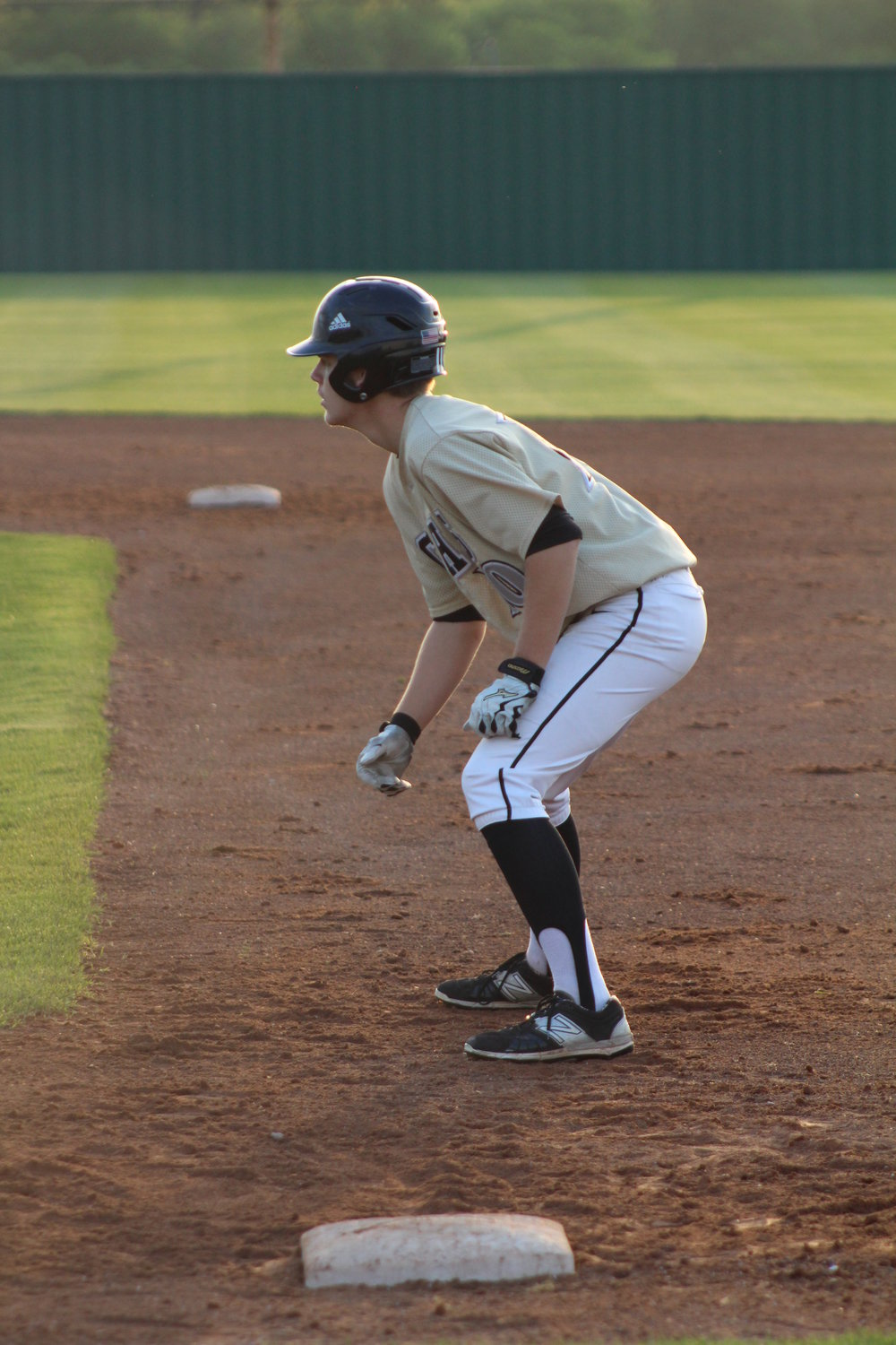 CPHS senior Josh Taber was 3-of-4 at the plate against Sapulpa with a triple, four RBI, and two runs.