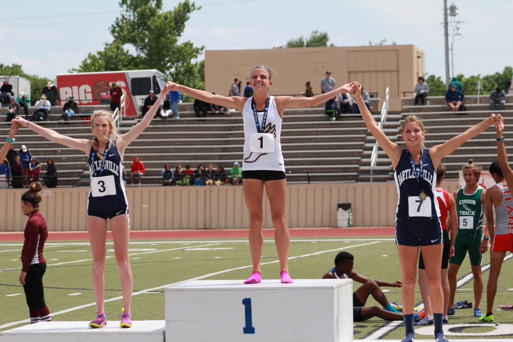Sand Springs State Champion Cheyenne Walden