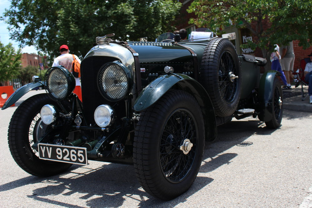 "Todd Coady's 1928 Bentley 4 1/2 Litre won ""Best of Show"" and was the oldest vehicle in the Expo. (Photo: Scott Emigh)."
