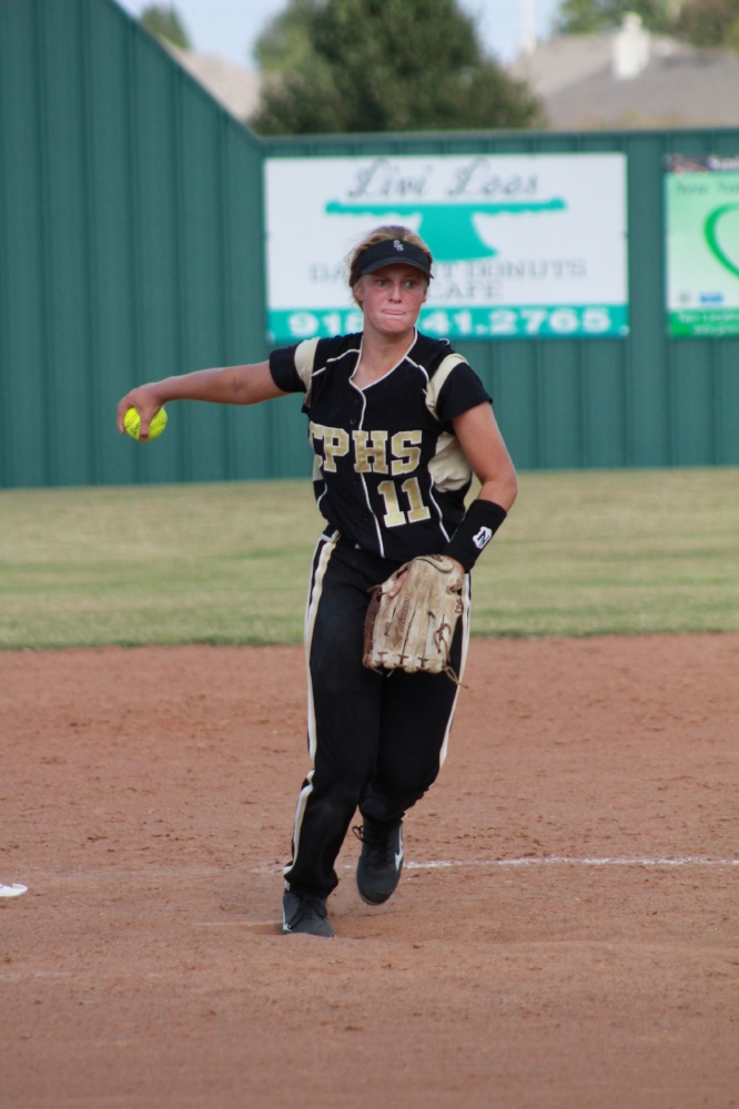 Junior pitcher Jacie Taber is undefeated on the mound this season.