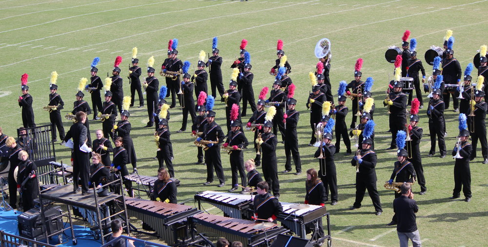 The Charles Page High School Gold Pride Marching Band took 6th place at the Pryor Band Day. (Photo: Tristia Watson).