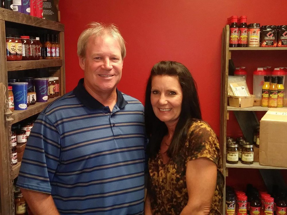 Steve and Kim Zieg are the owners of the soon-to-open OkieSpice & Trade Co. in Sand Springs. (Photo: Sam Shook).