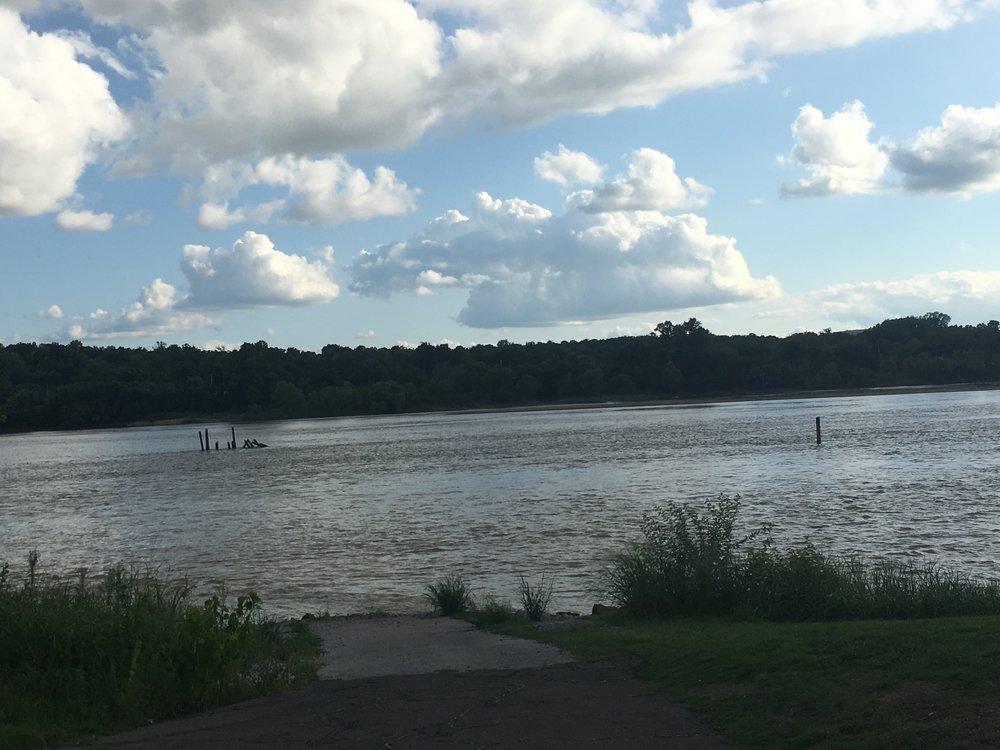 The Arkansas River access ramp inside Case Community Park 170811 (Scott Emigh).jpg