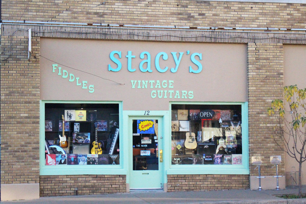 stacy's vintage guitars and resale shop - downtown 12 east 2nd street