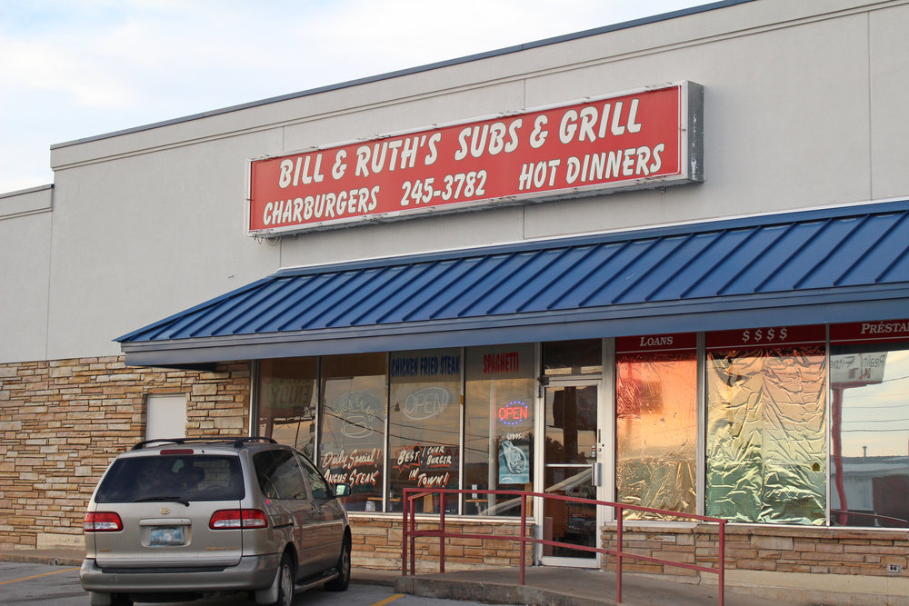 bill & ruth's subs & grill - downtown 351 east 2nd street