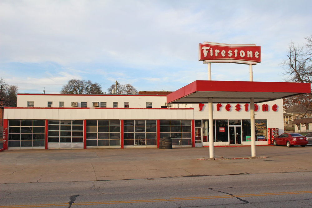 firestone - downtown 215 east broadway street