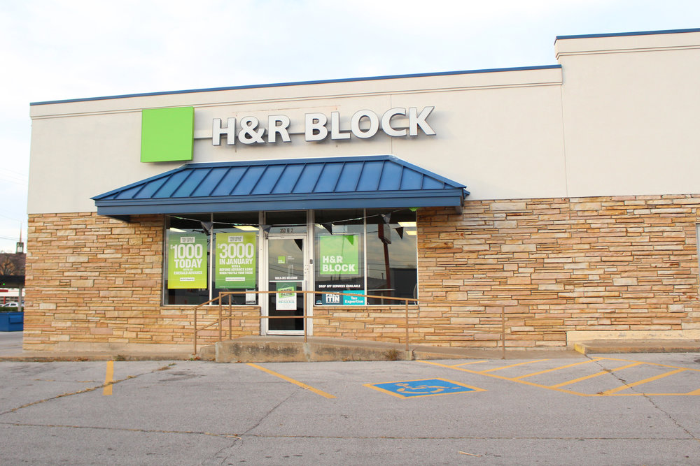 H&R Block - downtown 353 east 2nd street