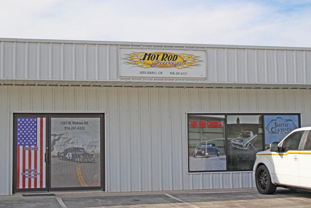hot rod garage  1202 Keystone expressway