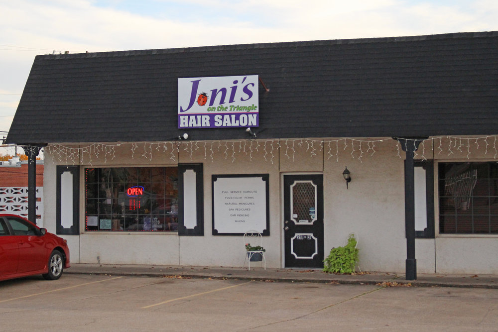 joni's on the triangle hair salon - downtown 211 north main street, suite 2
