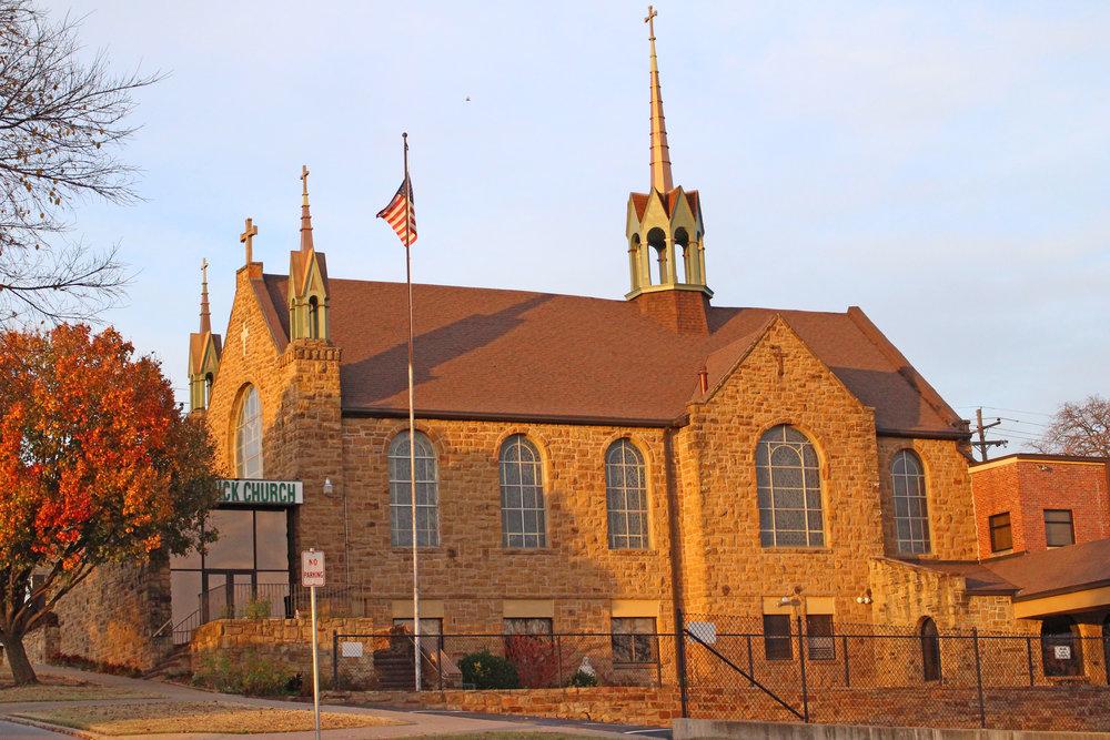 st. patrick's catholic church  204 east 4th street