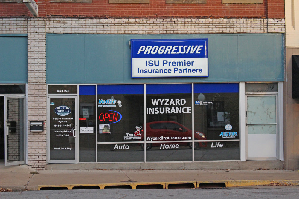 wyzard insurance - downtown 203 north main street