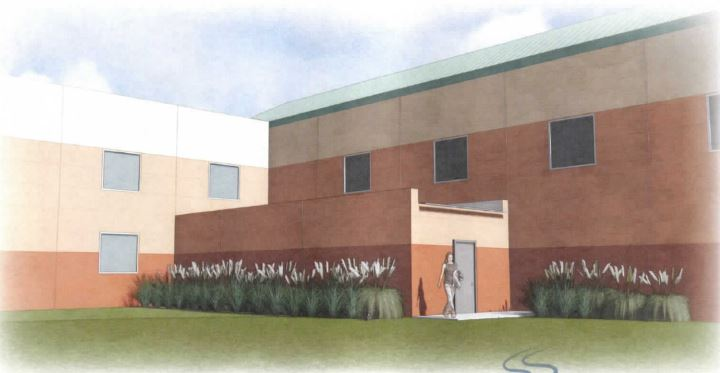 "A ""hardened-room"" storm shelter planned for Case Community Center."
