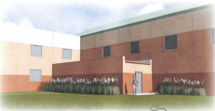 "A ""hardened-room"" storm shelter planned for Case Community Center."