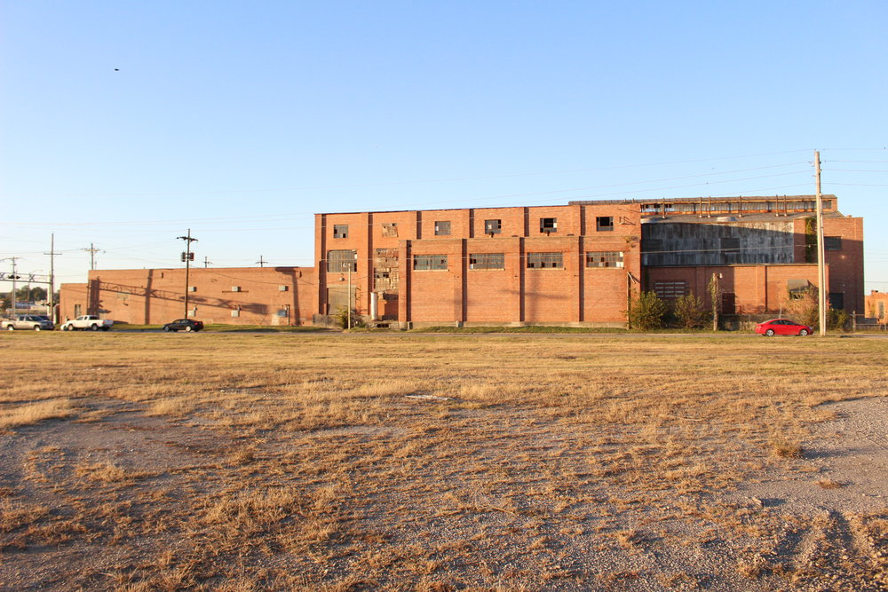Formerly a power plant and fire station, this building could one day be the home of a micro-brewery and restaurant.