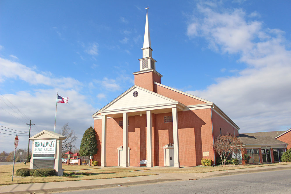 broadway baptist church 1000 north adams road