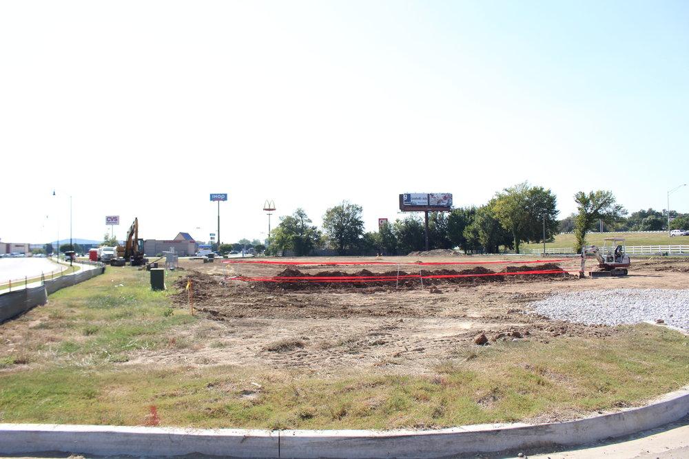 Progress photo: September 11, 2017.