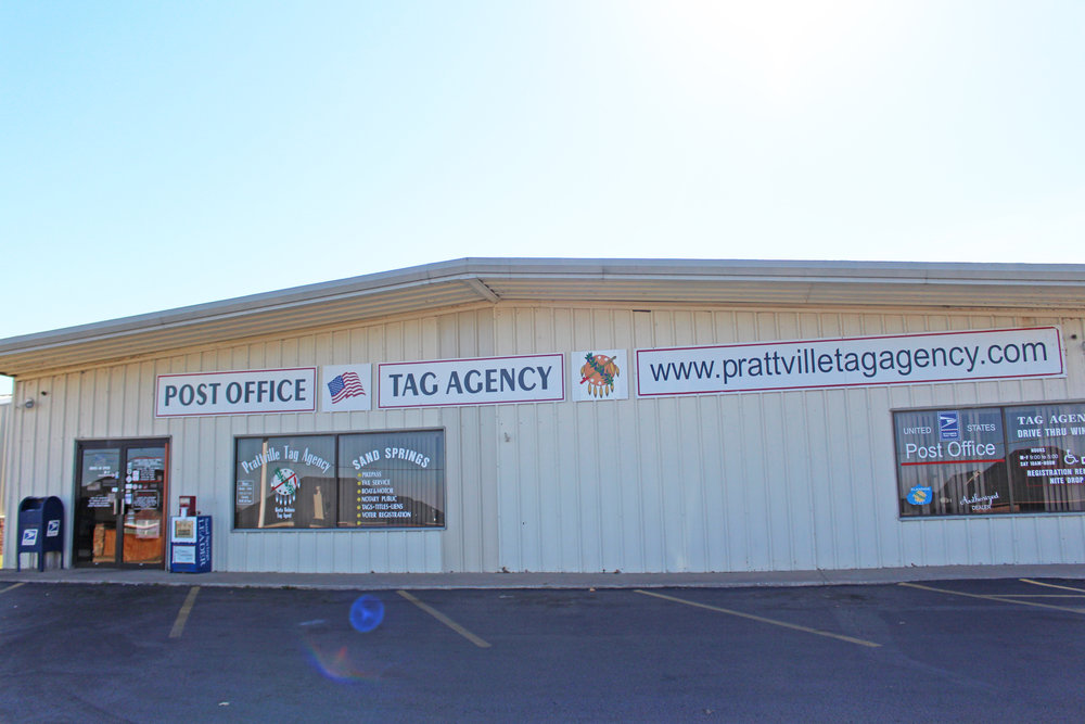 prattville tag agency & post office 606 west 41st street