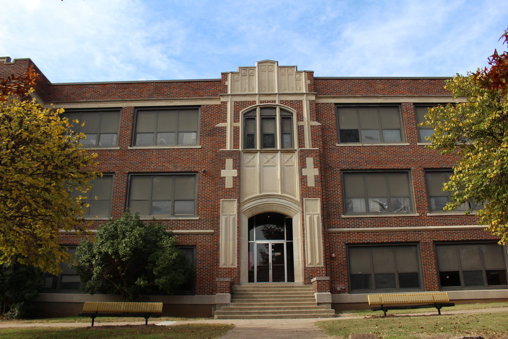 One of the oldest buildings in Sand Springs, Central Ninth Grade center could be replaced in the coming years.