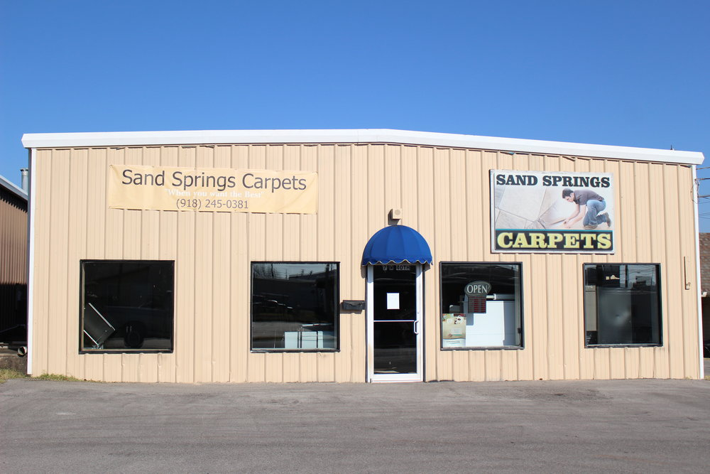 sand springs carpets - prattville 7 west 40th street