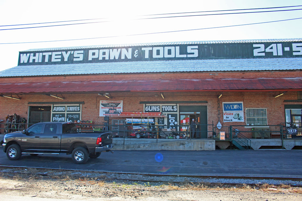 whitey's pawn & Tools 400 east morrow road
