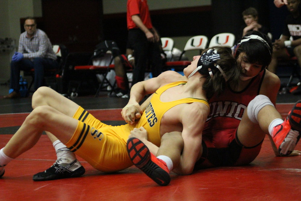 Chris Kirby placed second at the Inola Wrestling Tournament.