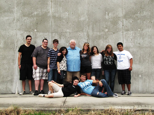 REV. TERRY SCOTT WITH HIS 2012 SUMMER INTERNS ON A MISSION TRIP TO NEW ORLEANS. (PHOTO SCOTT EMIGH)
