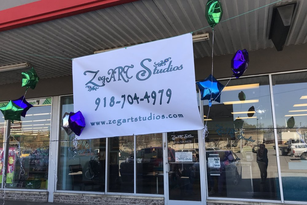 Zegart studios - atwoods plaza 700 East Charles Page Boulevard
