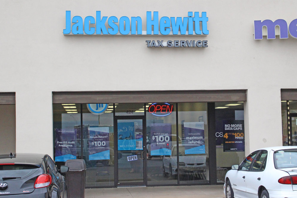 Jackson hewitt tax services - the shops at adams road 424 Plaza court