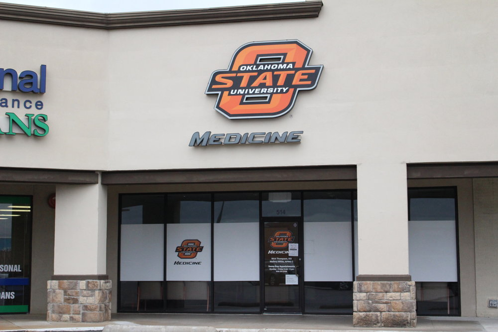 oklahoma state university medical clinic - the shops at adams road 514 plaza court