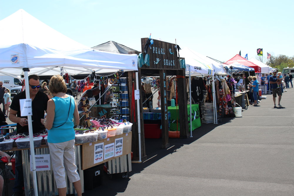Chillin' & Grillin' is more than just BBQ. The event attracts several arts and crafts vendors every year.